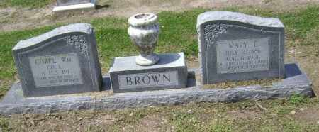 BROWN, MARY E. - Lawrence County, Arkansas | MARY E. BROWN - Arkansas Gravestone Photos