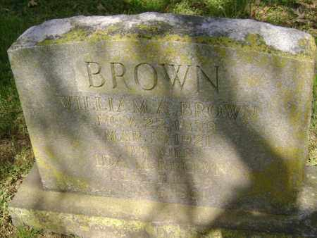 BROWN, WILLIAM A. - Lawrence County, Arkansas | WILLIAM A. BROWN - Arkansas Gravestone Photos