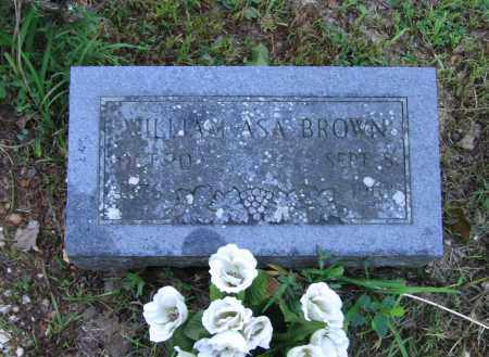 BROWN, WILLIAM ASA - Lawrence County, Arkansas | WILLIAM ASA BROWN - Arkansas Gravestone Photos