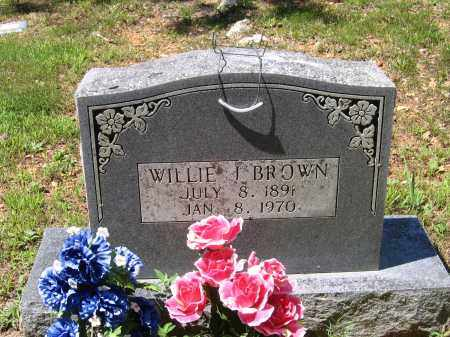 BROWN, WILLIE J. - Lawrence County, Arkansas | WILLIE J. BROWN - Arkansas Gravestone Photos