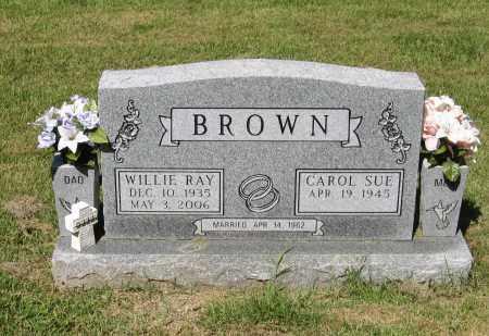 BROWN, WILLIE RAY - Lawrence County, Arkansas | WILLIE RAY BROWN - Arkansas Gravestone Photos