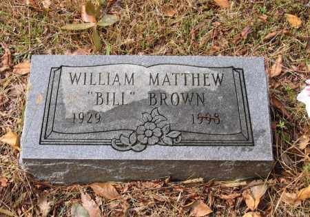 BROWN, WILLIAM MATTHEW - Lawrence County, Arkansas | WILLIAM MATTHEW BROWN - Arkansas Gravestone Photos