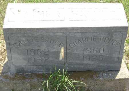 BRUCE, CHARLIE - Lawrence County, Arkansas | CHARLIE BRUCE - Arkansas Gravestone Photos