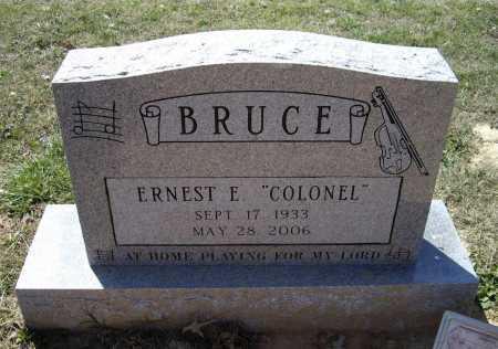 "BRUCE (VETERAN WWII), ERNEST ELLSWORTH ""COLONEL"" - Lawrence County, Arkansas | ERNEST ELLSWORTH ""COLONEL"" BRUCE (VETERAN WWII) - Arkansas Gravestone Photos"