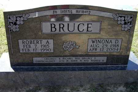 BRUCE, WINONA - Lawrence County, Arkansas | WINONA BRUCE - Arkansas Gravestone Photos
