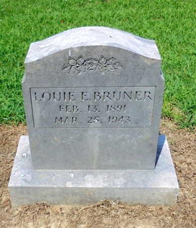 BRUNER, LOUIE E. - Lawrence County, Arkansas | LOUIE E. BRUNER - Arkansas Gravestone Photos