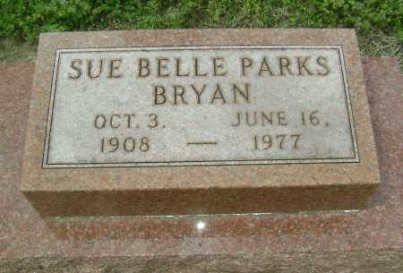 PARKS BRYAN, SUE ELLEN BELLE - Lawrence County, Arkansas | SUE ELLEN BELLE PARKS BRYAN - Arkansas Gravestone Photos
