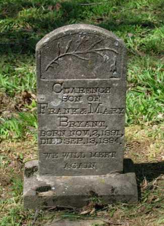 BRYANT, CLARENCE - Lawrence County, Arkansas   CLARENCE BRYANT - Arkansas Gravestone Photos
