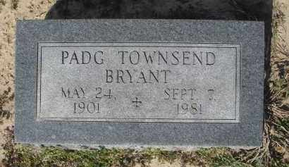 TOWNSEND BRYANT, PADG LYNN - Lawrence County, Arkansas | PADG LYNN TOWNSEND BRYANT - Arkansas Gravestone Photos