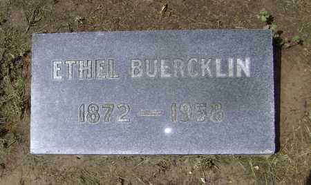 WYATT BUERCKLIN, ETHEL - Lawrence County, Arkansas | ETHEL WYATT BUERCKLIN - Arkansas Gravestone Photos