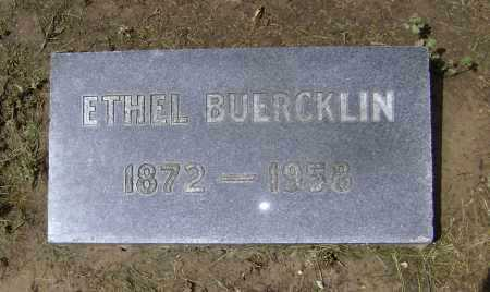 BUERCKLIN, ETHEL - Lawrence County, Arkansas | ETHEL BUERCKLIN - Arkansas Gravestone Photos