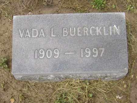 BUERCKLIN, VADA - Lawrence County, Arkansas | VADA BUERCKLIN - Arkansas Gravestone Photos