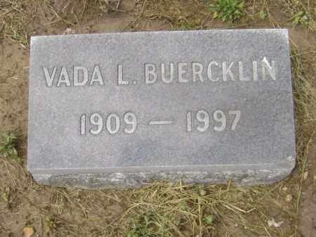 BUERCKLIN, VADA - Lawrence County, Arkansas | VADA BUERCKLIN - Arkansas Gravestone Photos