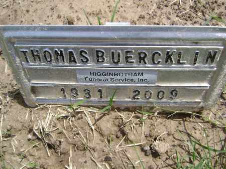 BUERCKLIN (VETERAN), THOMAS S - Lawrence County, Arkansas | THOMAS S BUERCKLIN (VETERAN) - Arkansas Gravestone Photos