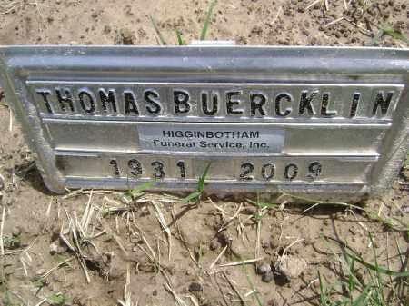 BUERCKLIN (VETERAN), THOMAS S - Lawrence County, Arkansas | THOMAS S BUERCKLIN (VETERAN) - Arkansas Gravestone Photos
