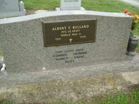 BULLARD (VETERAN WWII), ALBERT ELTON - Lawrence County, Arkansas | ALBERT ELTON BULLARD (VETERAN WWII) - Arkansas Gravestone Photos