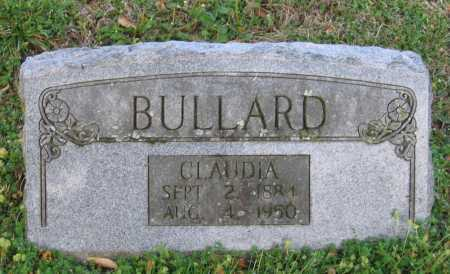 BULLARD, CLAUDIA - Lawrence County, Arkansas | CLAUDIA BULLARD - Arkansas Gravestone Photos