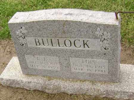 WALKER BULLOCK, LOIS - Lawrence County, Arkansas | LOIS WALKER BULLOCK - Arkansas Gravestone Photos