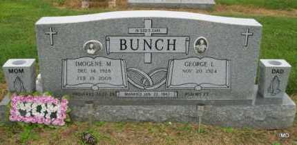 BUNCH, IMOGENE M. - Lawrence County, Arkansas | IMOGENE M. BUNCH - Arkansas Gravestone Photos