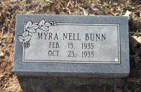 BUNN, MYRA NELL - Lawrence County, Arkansas | MYRA NELL BUNN - Arkansas Gravestone Photos