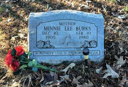 BURKS, MINNIE LEE ANDERSON MORRIS - Lawrence County, Arkansas | MINNIE LEE ANDERSON MORRIS BURKS - Arkansas Gravestone Photos