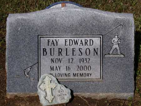 "BURLESON, FAY EDWARD ""EDD"" - Lawrence County, Arkansas 