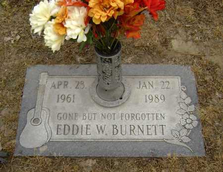 BURNETT, EDDIE W. - Lawrence County, Arkansas | EDDIE W. BURNETT - Arkansas Gravestone Photos