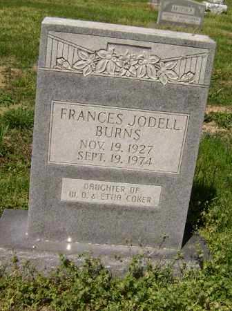 COKER BURNS, FRANCES JODELL - Lawrence County, Arkansas | FRANCES JODELL COKER BURNS - Arkansas Gravestone Photos