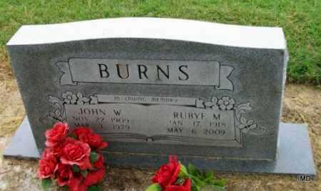 BURNS, JOHN WESLEY - Lawrence County, Arkansas | JOHN WESLEY BURNS - Arkansas Gravestone Photos