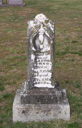 BURNS, JOHN HENRY - Lawrence County, Arkansas | JOHN HENRY BURNS - Arkansas Gravestone Photos