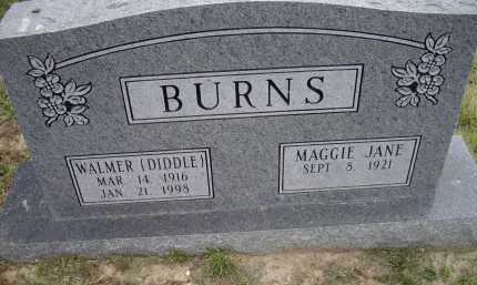 BURNS, MAGGIE JANE - Lawrence County, Arkansas | MAGGIE JANE BURNS - Arkansas Gravestone Photos