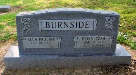 BURNSIDE, ELLA PAULINE - Lawrence County, Arkansas | ELLA PAULINE BURNSIDE - Arkansas Gravestone Photos