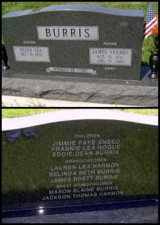 "BURRIS, JAMES VERNON ""JIMMY"" - Lawrence County, Arkansas 