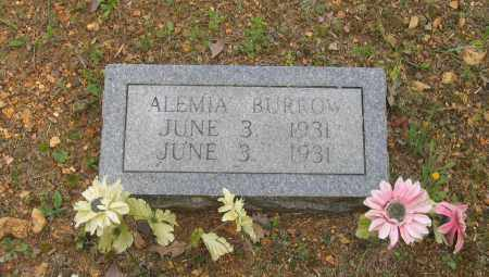 BURROW, ALEMIA - Lawrence County, Arkansas | ALEMIA BURROW - Arkansas Gravestone Photos