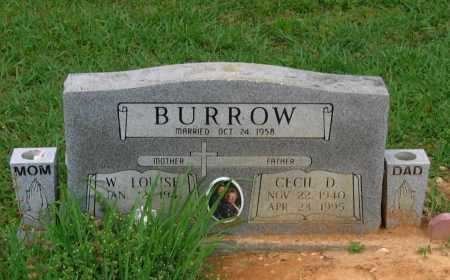 BURROW, CECIL DEAN - Lawrence County, Arkansas | CECIL DEAN BURROW - Arkansas Gravestone Photos