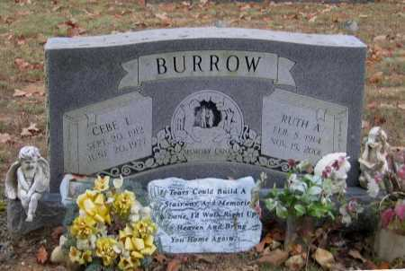 LAWRENCE BURROW, RUTH A. - Lawrence County, Arkansas | RUTH A. LAWRENCE BURROW - Arkansas Gravestone Photos