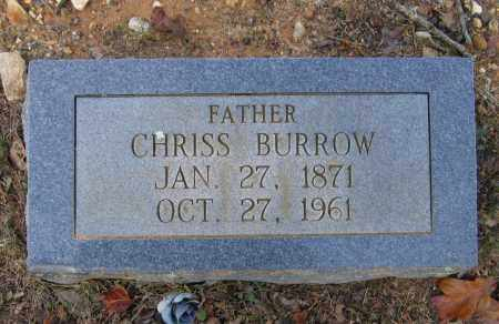 "BURROW, CHRISTOPHER FILLMAN ""CHRISS"" - Lawrence County, Arkansas 