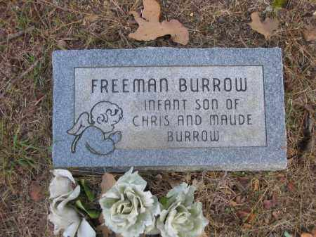 BURROW, FREEMAN - Lawrence County, Arkansas | FREEMAN BURROW - Arkansas Gravestone Photos