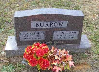 "BURROW, JOHN DENNIS ""J. D."" - Lawrence County, Arkansas 