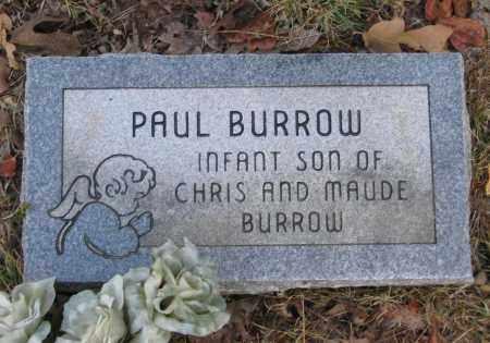 BURROW, PAUL - Lawrence County, Arkansas | PAUL BURROW - Arkansas Gravestone Photos