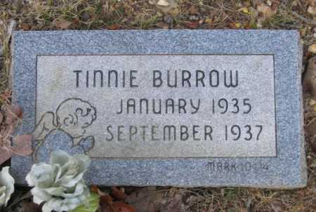 BURROW, TINNIE - Lawrence County, Arkansas | TINNIE BURROW - Arkansas Gravestone Photos