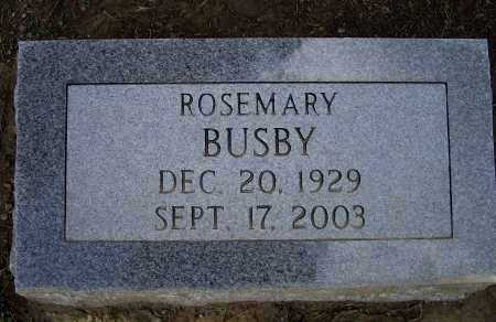 BUSBY, ROSEMARY - Lawrence County, Arkansas | ROSEMARY BUSBY - Arkansas Gravestone Photos
