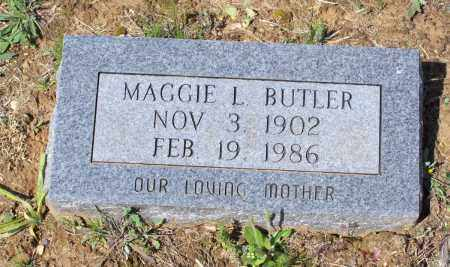 BUTLER, MAGGIE LEONA - Lawrence County, Arkansas | MAGGIE LEONA BUTLER - Arkansas Gravestone Photos