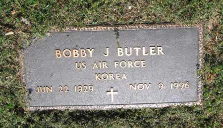 BUTLER (VETERAN KOR), BOBBY J. - Lawrence County, Arkansas | BOBBY J. BUTLER (VETERAN KOR) - Arkansas Gravestone Photos