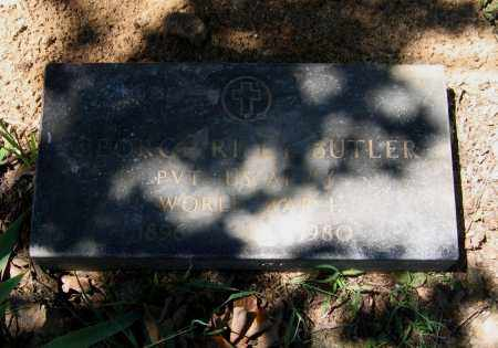 BUTLER (VETERAN WWI), GEORGE RILEY - Lawrence County, Arkansas | GEORGE RILEY BUTLER (VETERAN WWI) - Arkansas Gravestone Photos