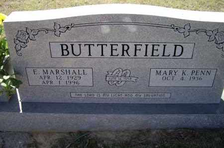 BUTTERFIELD, ELDRED MARSHALL - Lawrence County, Arkansas | ELDRED MARSHALL BUTTERFIELD - Arkansas Gravestone Photos