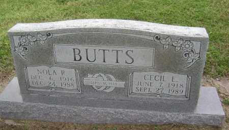 BUTTS, NOLA RACHEL - Lawrence County, Arkansas | NOLA RACHEL BUTTS - Arkansas Gravestone Photos