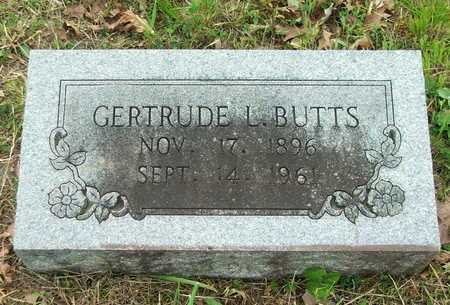 MATTHEWS BUTTS, GERTRUDE LILLIE - Lawrence County, Arkansas | GERTRUDE LILLIE MATTHEWS BUTTS - Arkansas Gravestone Photos