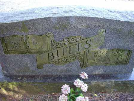 BUTTS, MARY ANN - Lawrence County, Arkansas | MARY ANN BUTTS - Arkansas Gravestone Photos