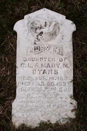 BYARS, RUBY M. - Lawrence County, Arkansas | RUBY M. BYARS - Arkansas Gravestone Photos
